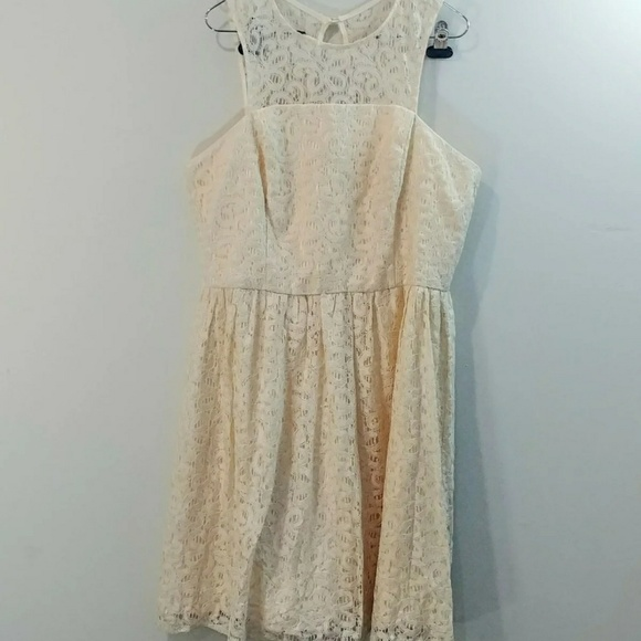 The Limited Dresses & Skirts - The Limited size 14 ivory lace dress